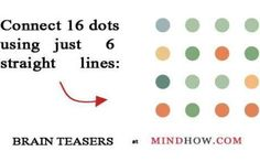 connect the dots brain teaser
