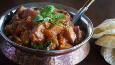 Eggplant & Sweet Potato Curry