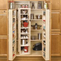 Maximize kitchen storage with these awesome Rev-A-Shelf Pantry Kits. And check out other innovative home products we admire on our Pinterest board Stuff We Love. | Photo: Courtesy Rev-A-Shelf | thisoldhouse.com