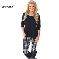 CMYAYA 2016 New Women Casual Spring Black Full Sleeve O-Neck T-shirt at our web shop http://www.aliexpress.com/store/536244