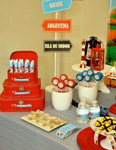 Encontrando Ideias: Festa Thomas e seus Amigos!!!