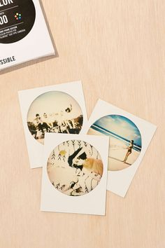 Impossible Round White Frame Edition Film - Urban Outfitters