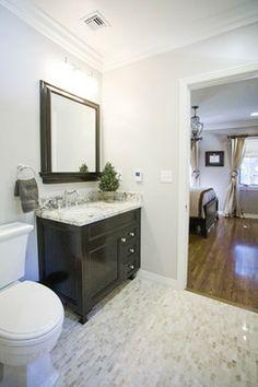 Neutral Bathroom - Contemporary Bathroom - Oak Knoll 2 Bathroom