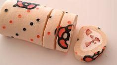 Create Eat Happy :): How to Make Kawaii Deco Roll Cake (Cute Decorated Swiss Roll) - Video Recipe