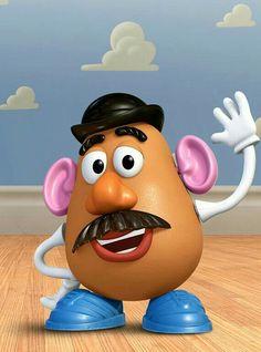 Potato Head from Toy Story Toy Story Kostüm, Toy Story Cakes, Toy Story Party, Cumple Toy Story, Festa Toy Story, Walt Disney, Disney Pixar, Toy Store 4, Disney Films