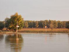 campul Danube Delta, Country Roads