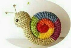 Amigurumi Knitting Toy Models – Amigurumi Snail Model Making (Narrated) – Stricken, Strickmodelle, Strickbeispiele – Nice Photo Crochet Escargot, Crochet Snail, Crochet Toys, Knit Crochet, Crochet Motifs, Crochet Patterns, Amigurumi Patterns, Viking Tattoo Design, Amigurumi Toys