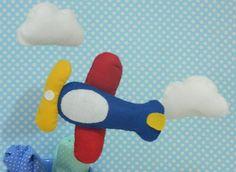 Design Lembranças Blog: Molde avião de feltro