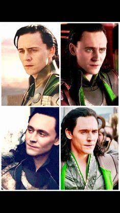 My own Loki through the years edit...