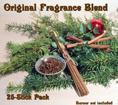 "Incense Sticks, ""Solstice Spice"" Original Fragrance, Dozens, Bundles; Vanilla, Clove, Cinnamon; Solstice, Christmas; Cheery and Spicy Scent by Dauna Kiser. See it at Kiserartstudio on Etsy Incense Sticks, Cinnamon, Spicy, Vanilla, Fragrance, Earth, The Originals, Studio, Christmas"