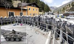 Austria send troops to stop migrants crossing Italy border  The planned controls will include the busy Alpine Brenner pass, a defence ministry spokesman said - a move that Italy warned last year would break EU rules on free movement.