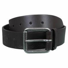 -Calvin Klein Cow Leather Belt