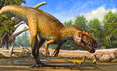 Torvosaurus gurneyi: New Giant Dinosaur Discovered in Portugal during the Jurassic.