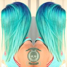 Colbalt Roots | 21 Bold AF Hair Colors To Try In 2016