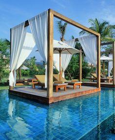 Incredible Hotel Pools: The Sarojin Resort, Thailand