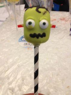 Frankie Halloween Cake Pop