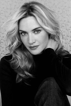 Kate Winslet is credited as Actress, role in The Titanic , Heavenly Creatures . Kate Winslet born October in Reading, England is a British actress. Hollywood Actresses, Actors & Actresses, Kino Movie, English Actresses, Black And White Portraits, Famous Women, Hollywood Stars, Famous Faces, Beautiful Actresses