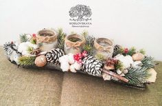 Новости Christmas Advent Wreath, Merry Christmas Sign, Christmas Gift Box, Christmas Crafts, Christmas Arrangements, Christmas Table Decorations, Advent Candles, Deco Floral, Natural Christmas