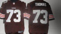 Cleveland Browns 73 Thomas Brown Elite NFL Jerseys.