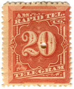 United States tax stamp: Rapid telegram | Flickr - Photo Sharing!