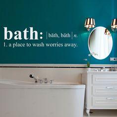 Bath Wall Decal