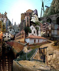 MI LABORATORIO DE IDEAS: BABYLON PROJECT (2) - calle del absimo