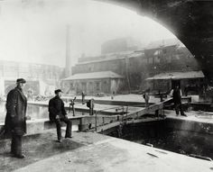 "Caption: ""Entrance to Regent's Canal Dock under Commercial Road"""