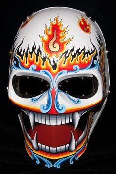 Airsoft Mask Onimaru Army of Two Paintball Helmet Cosplay PHI TA Khon Series | eBay