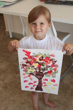 Bringing Fall to the Desert... With a Fall Tree Painting ‹ Mama. Papa. Bubba.Mama. Papa. Bubba.