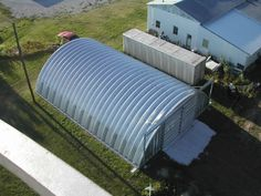 We carry insulation and accessories for all our buildings. Canadian Institute of Steel Construction. county wind and snow load. Prefab Metal Buildings, Metal Garages, Steel Buildings, Quonset Hut Homes, Round Building, Arch House, Earth Homes, Steel Structure, Building Design