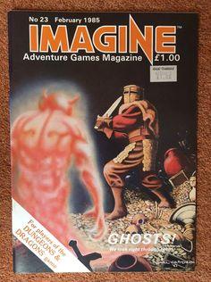 IMAGINE Magazine Issue 23 February 1985 TSR UK Dungeons & Dragons   eBay