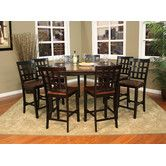 Found it at Wayfair - Rosetta 9 Piece Counter Height Dining Set