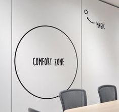The Creative Office. - The Creative Office. The Creative O - Office Wall Design, Office Walls, Office Interior Design, Office Interiors, Office Decor, Ikea Office, Corporate Office Design, Office Workspace, Small Office