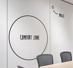Comfort Zone Wall Sticker