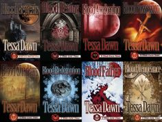 The Blood Curse Series  by Tessa Dawn ~ for those who like their fantasy (and vampires) served dark.