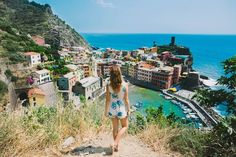 The Travelette's Guide to Cinque Terre --> photo and swim spots, etc.