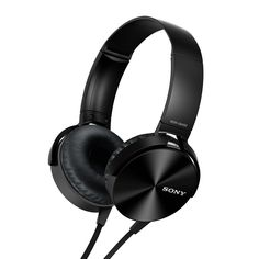 Shop for Sony Extra Bass Smartphone Headset. Get free delivery On EVERYTHING* Overstock - Your Online Home Theater & Audio Store! Get in rewards with Club O! Best In Ear Headphones, Bass Headphones, Wireless Headphones, Headphones Online, Workout Headphones, Wireless Speakers, Headphone Sony, Headphone With Mic, Headphone Review