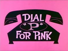 Dial 'P' for PINK!!!.... #Pinterest Pink