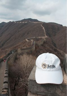 Leeds School of Business at the Great Wall of China! #CUBoulder