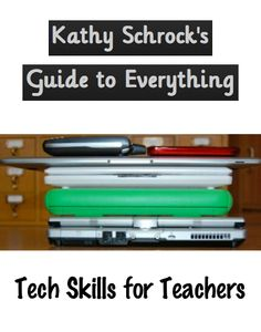 """Tech skills teachers should have. Ideas gathered from my PLN."" Kathy 'awesome amount of REALLY useful info! Teaching Technology, Teaching Tools, Educational Technology, Teacher Resources, Middle School Libraries, Education And Literacy, Instructional Technology, Computer Lab, Librarians"