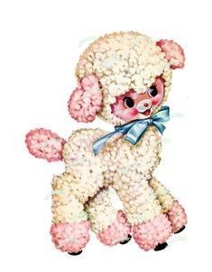 Vintage Cartoons, Vintage Toys, Kitsch, Retro, Vintage Nursery, Vintage Greeting Cards, Illustrations, Christmas Images, Collage Sheet