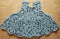 Oh-Cho-Chweet Pineapple Dress Free Crochet Pattern