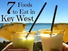 Seven foods to eat in Key West.