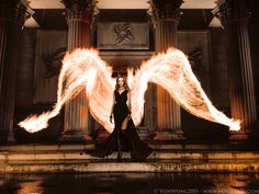 Epic Smartphone Photo - Fire Angel for Huawei by Von Wong by Benjamin Von Wong on 500px
