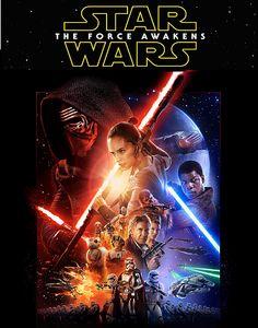 Star Wars: Episode VII- The Force Awakens (PG-13)