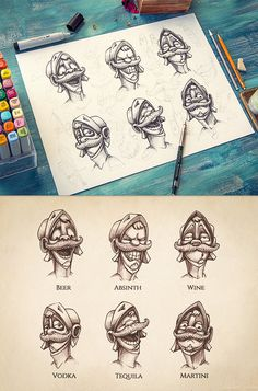 Character design | 2012-2013 on Behance