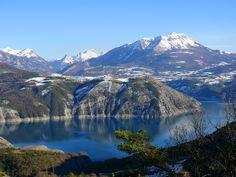 Lac de Serre-Ponçon - Grand lac public - Les Hautes Alpes (05)   Colinmaire.net - Passion de la pêche à la carpe en grands lacs