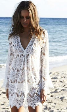 knit lace cover up - Google Search