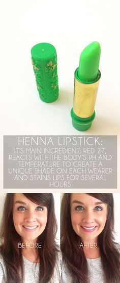 Henna lipstick seriously is the best