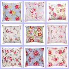 Auction Girl Vintage: Pink Saturday ~ Cath Kidston Pillows